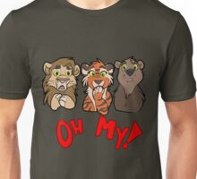 Lions and Tigers and Bears, Oh My!  Unisex T-Shirt
