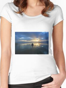 Sunset  II Women's Fitted Scoop T-Shirt