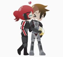 Mass Effect Couple by chocominto