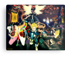 Final Fantasy Adventure Time! Metal Print