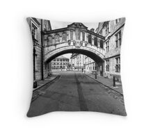 Welcome To Oxford Throw Pillow