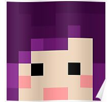 iHasCupquake Minecraft Oasis Skin Poster