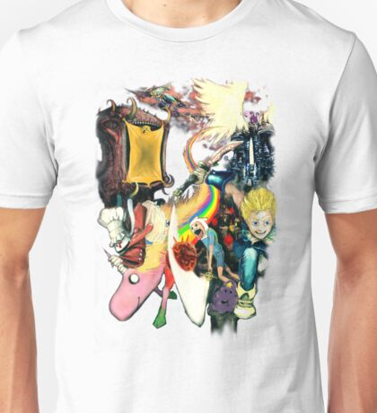 Final Fantasy Adventure Time! Unisex T-Shirt