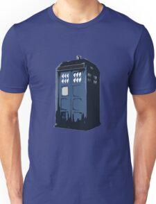 The BLUE Police Box - Tardis Unisex T-Shirt