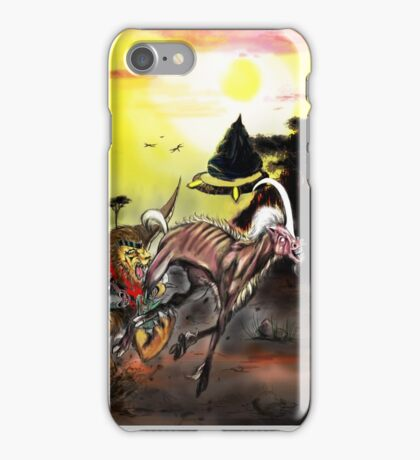 Chimera hunts Mezmerise iPhone Case/Skin