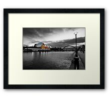 The River Tyne Framed Print