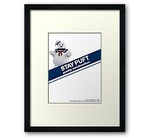 Stay Puft Marshmallow  Framed Print