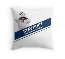 Stay Puft Marshmallow  Throw Pillow
