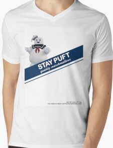 Stay Puft Marshmallow  Mens V-Neck T-Shirt