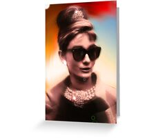 Audrey Greeting Card