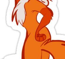 A Little Foxy Sticker
