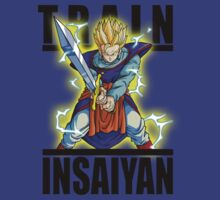 Train Insaiyan Gohan Z sword by BadrHoussni