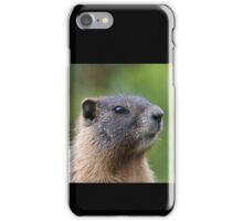 Marmot Portrait iPhone Case/Skin