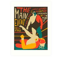 The Main Event Art Print