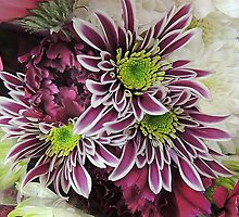 Chrysanthemum Bouquet by Alexandra Lavizzari