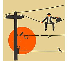 Man On A Wire Photographic Print