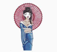 Geisha  by KyleCoffeyArt