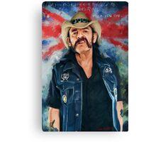 Lemmy - Motorhead Canvas Print