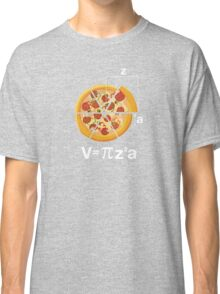 Math Pizza Humor Classic T-Shirt