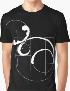 Vitruvian Moose (dark side) Graphic T-Shirt