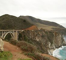 Bixby Bridge, Big Sur, California by peter694