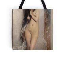 The Grasshopper by Jules Joseph Lefebvre Tote Bag