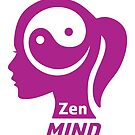 The Zen Mind Girl - Happy Quote by Silvia Neto