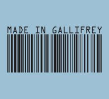 Made In Gallifrey Baby Tee