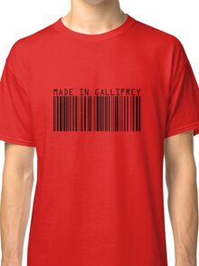 Made In Gallifrey Classic T-Shirt