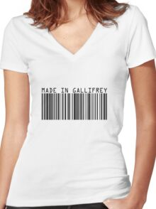Made In Gallifrey Women's Fitted V-Neck T-Shirt