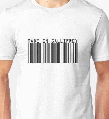 Made In Gallifrey Unisex T-Shirt