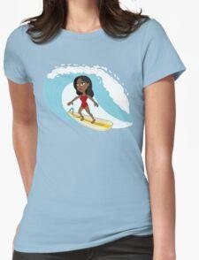 Surfer girl cartoon T-Shirt