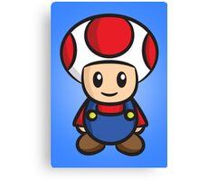 Mario Toad Canvas Print