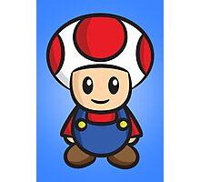 Mario Toad Photographic Print