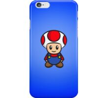 Mario Toad iPhone Case/Skin