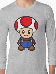 Mario Toad Long Sleeve T-Shirt