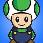 Luigi Toad by Lauramazing