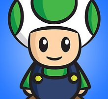 Luigi Toad by Lauramazing
