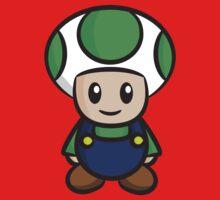 Luigi Toad Kids Clothes