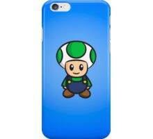 Luigi Toad iPhone Case/Skin