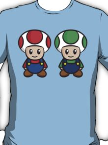 Super Mario Toads (without writing) T-Shirt