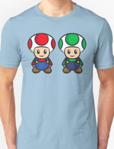 Super Mario Toads (without writing) Unisex T-Shirt