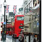 Piccadilly Circus, London by Claire McCall