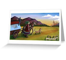 Carnivale Folk Greeting Card
