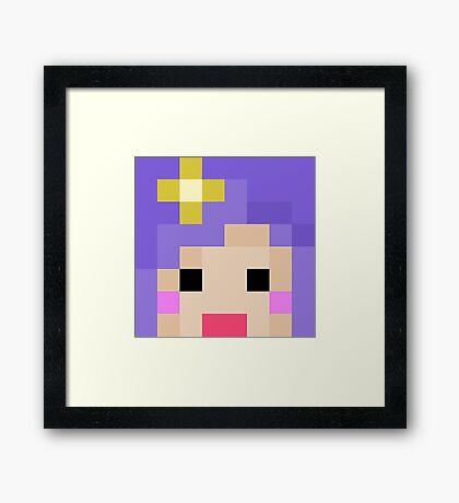 iHasCupquake Minecraft Cloud 9 Season 3 Skin Framed Print