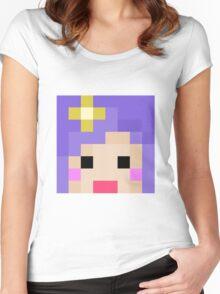 iHasCupquake Minecraft Cloud 9 Season 3 Skin Women's Fitted Scoop T-Shirt