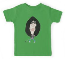 Classic Punk Rock 80's Funny Caricature Kids Tee