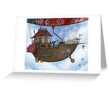 Voyage to Sky Mountain Greeting Card