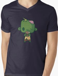 Baby Zombie Mens V-Neck T-Shirt