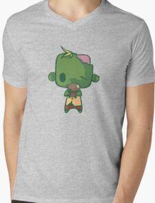 Baby Zombie Mens V-Neck T-Shirt